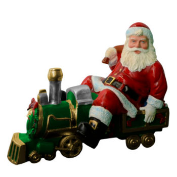 Papai-Noel-Trem