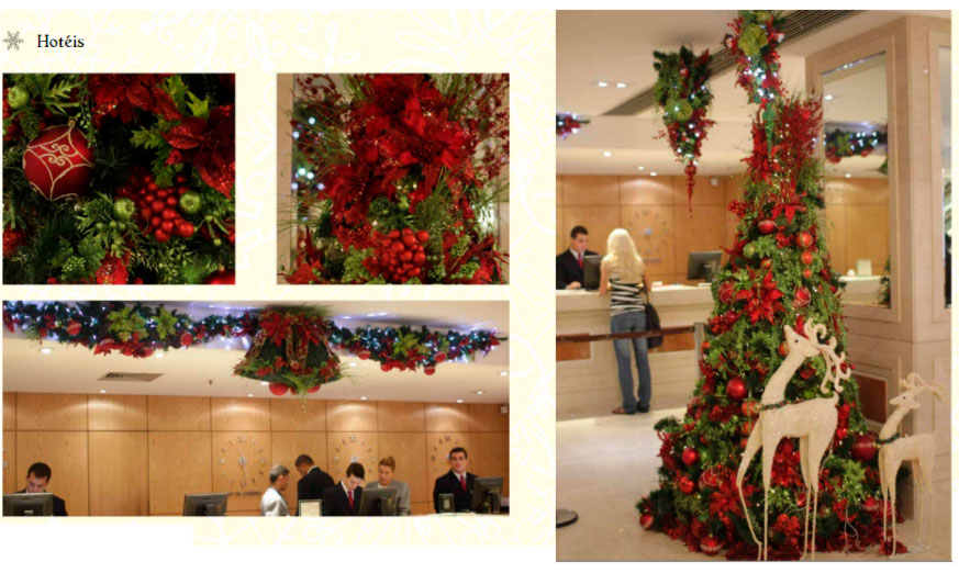 recepcao-hotel-decoracao-natalina